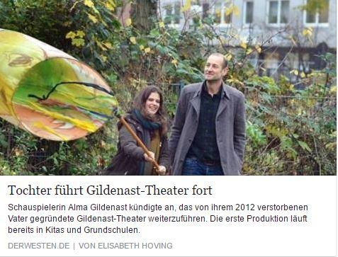 Alma führt Theaterarbeit ihres Vaters fort