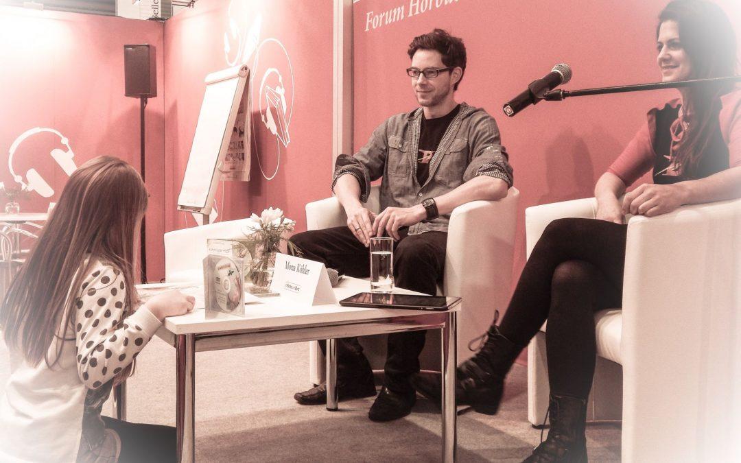 Mona und Kris auf der Leipziger Buchmesse