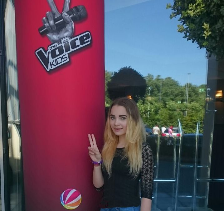 Juliette souverän im Casting für The Voice Kids
