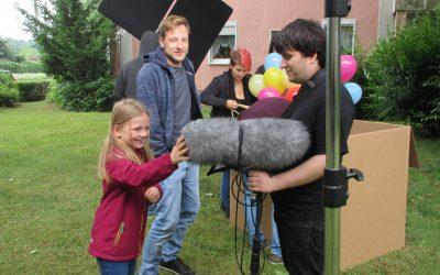 Livia mit Hauptrolle in Kurzfilm